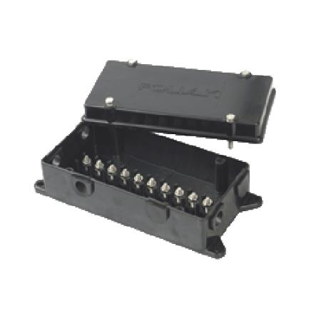 10-Way Plastic Junction Box