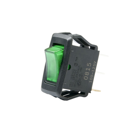 Illuminated Appliance Rocker Switch