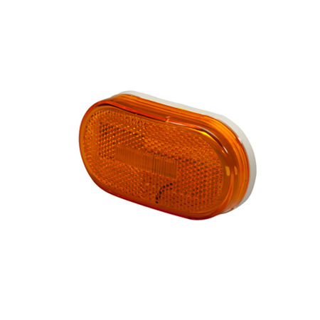 Oval 6 Diode LED Clearance Marker Light