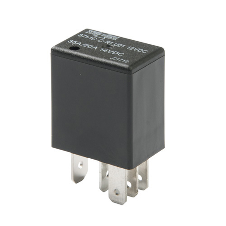 Micro ISO Relay with Resistor