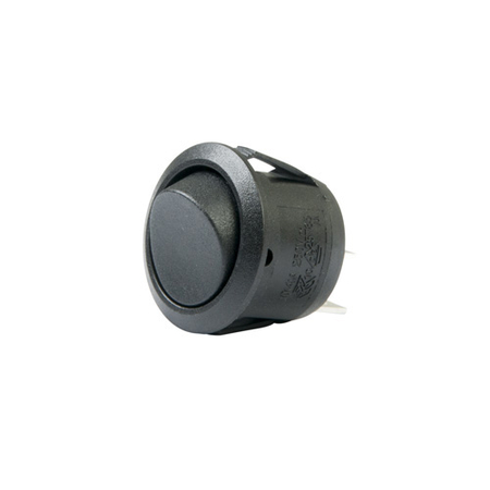 Round Rocker Switch - SPST