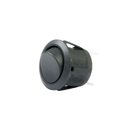 Round Rocker Switch - SPDT