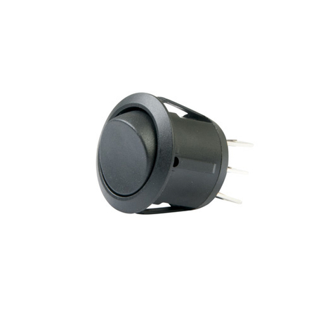 Round Rocker Switch - DPDT