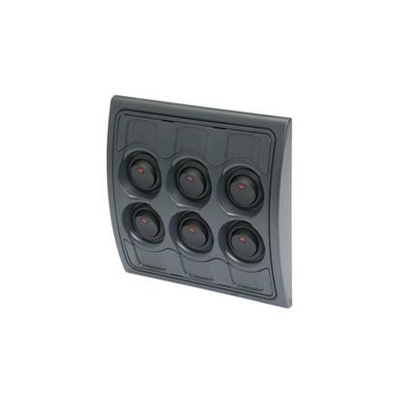 6-Way LED Rocker Switch Panel