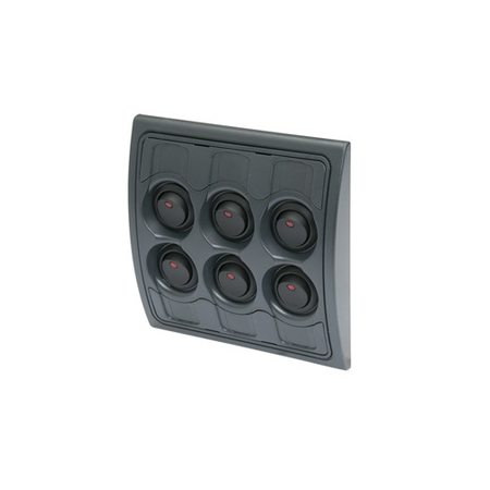 6-Way LED Rocker Switch Panel