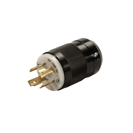 30A Locking Plug & Receptacle