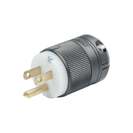 15A Power Cable Clamp Lock™ Plug & Connector