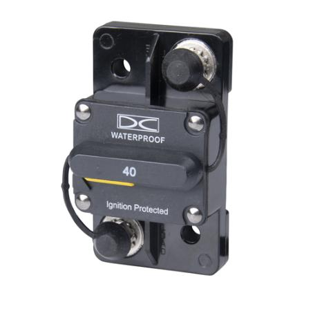 Hi-Amp Surface Mount - Manual Reset Breaker