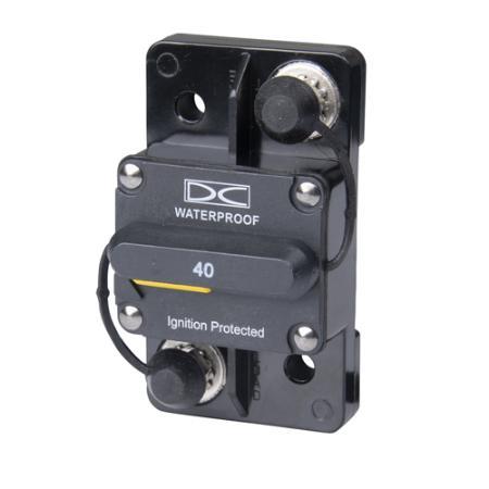 Hi-Amp Surface Mount - Manual Reset Breaker
