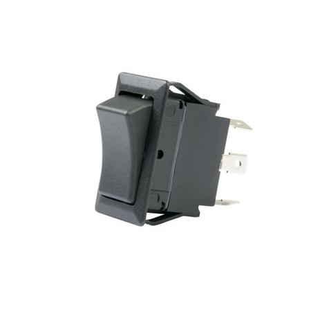 Flat Terminal Full Size Rocker Switch - DPDT