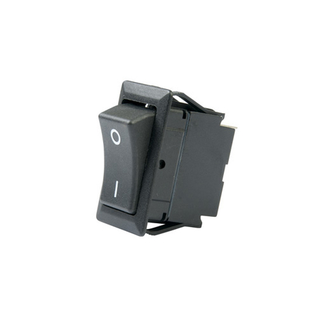 Non-illuminated Full Size Rocker Switch with Legend