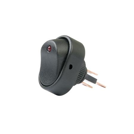LED Dot Rocker Switch