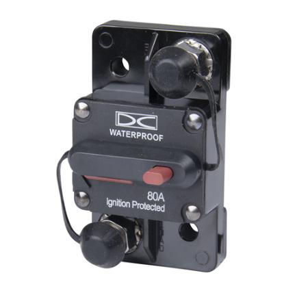 Switchable Circuit Breaker - 80 Amp