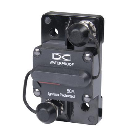 Manual Reset Circuit Breaker - 80 Amp