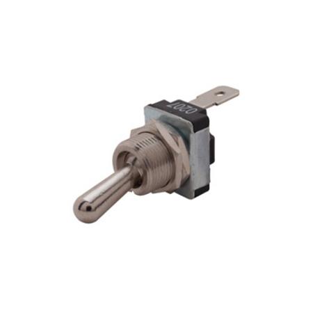 Medium-duty Flat Terminal Toggle Switch - SPST