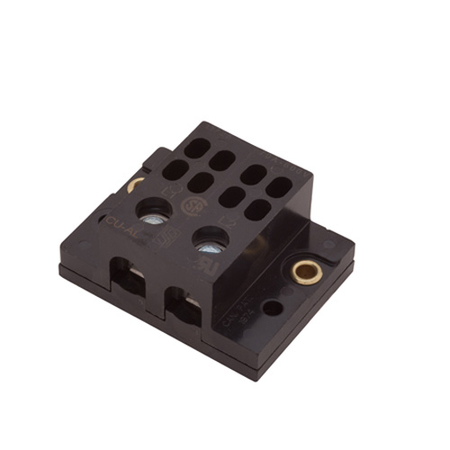 Dual 1 to 4 Quick Connect Power Distribution Block