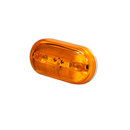 Oval Clearance Marker Light - 2-Bulb