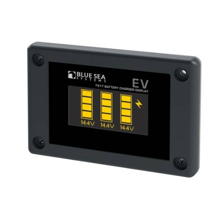 EV Battery Charger Display
