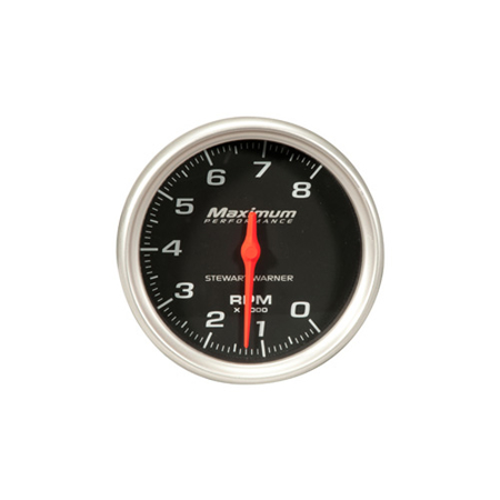 Black Face Competition Series Analog Tachometer