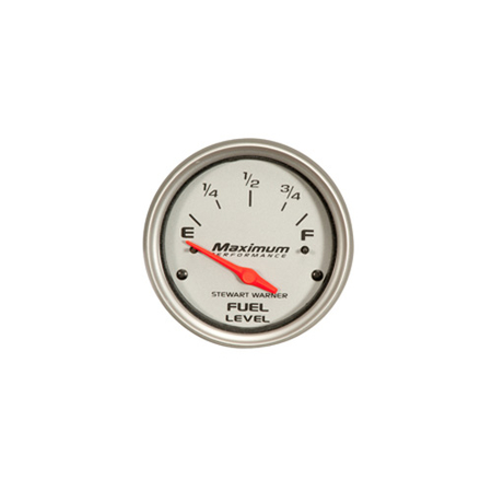 Silver Face Competition Series Fuel Gauge