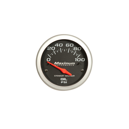 Black Face Competition Series Oil Pressure Gauge