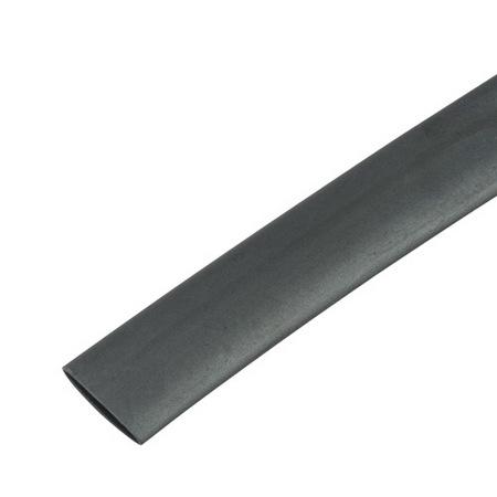 black single wall tubing 6-inch pieces