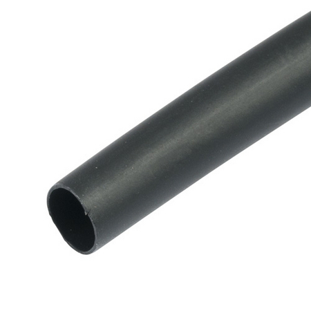 dual wall tubing black 6 inch pieces