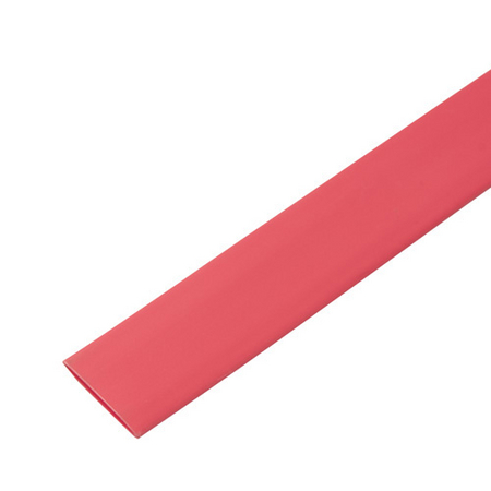 Single Wall Heat Shrink Tubing - Red