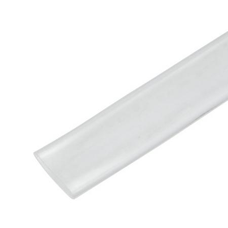 single wall tubing - clear - 4 foot sticks