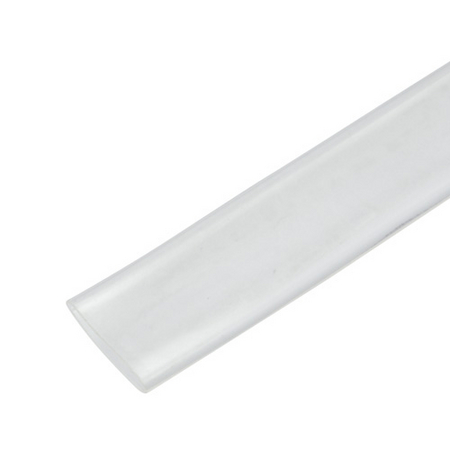 single wall tubing - clear - 4 foot sticks