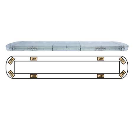 TIR Optic LED Lightbar