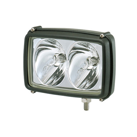 Rectangular, Twin Beam, Halogen Spot Work Lamp