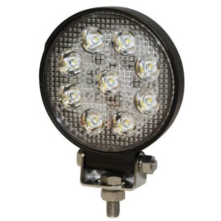 Round 8 LED Flood Work Light