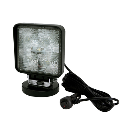 Square 5 LED Flood Work Light - Magnet Mount