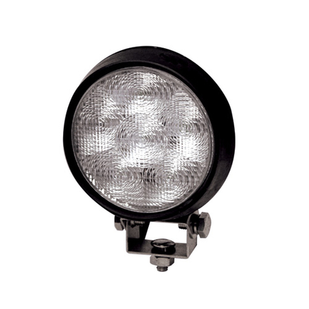Rubber Round 6 LED Flood Light