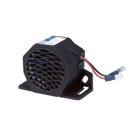 Forward Horn 107dB(A), 12V