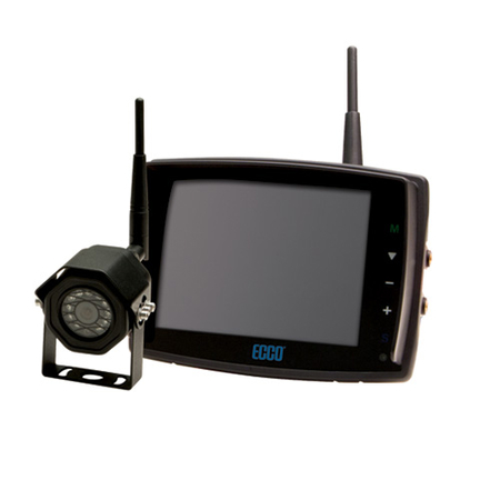 5·6 Inch LCD Touchscreen Color Camera Wireless System Kit