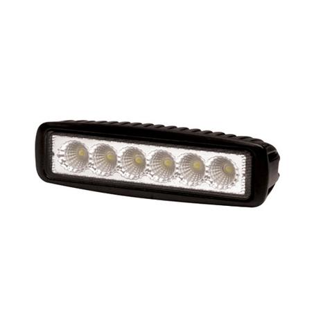 Mini 6 LED Flood Beam