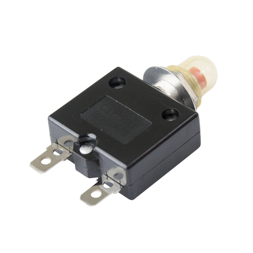 Push Button Thermal Circuit Breakers
