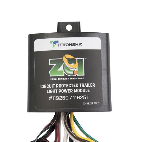 Zero Contact Interface Trailer Light Power Module