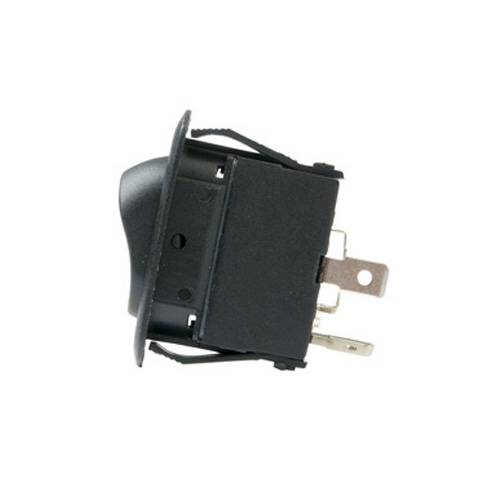LED Illuminated Single Pole Euro-style Rocker Switch - Side View
