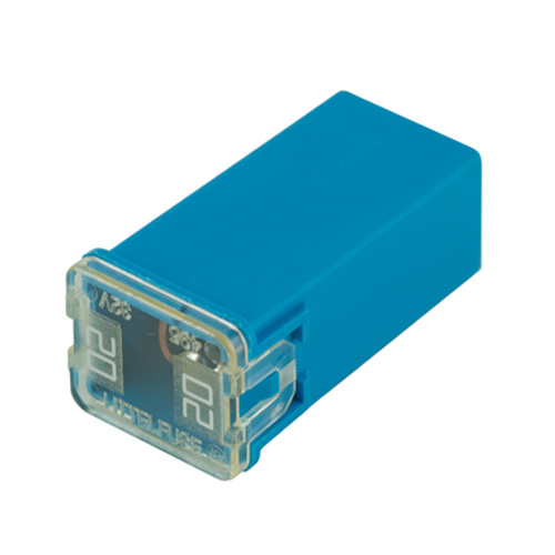 20 Amp Blue Jcase Series Fuses Standard Fitting Japanese Type