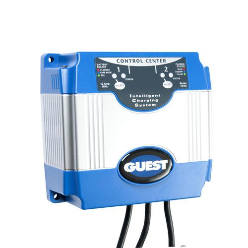 12 Amp, On-Board 12V Battery Charger