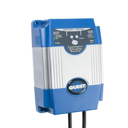 6 Amp, On-Board 12V Battery Charger