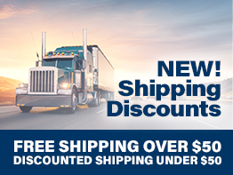 New Shipping Discounts